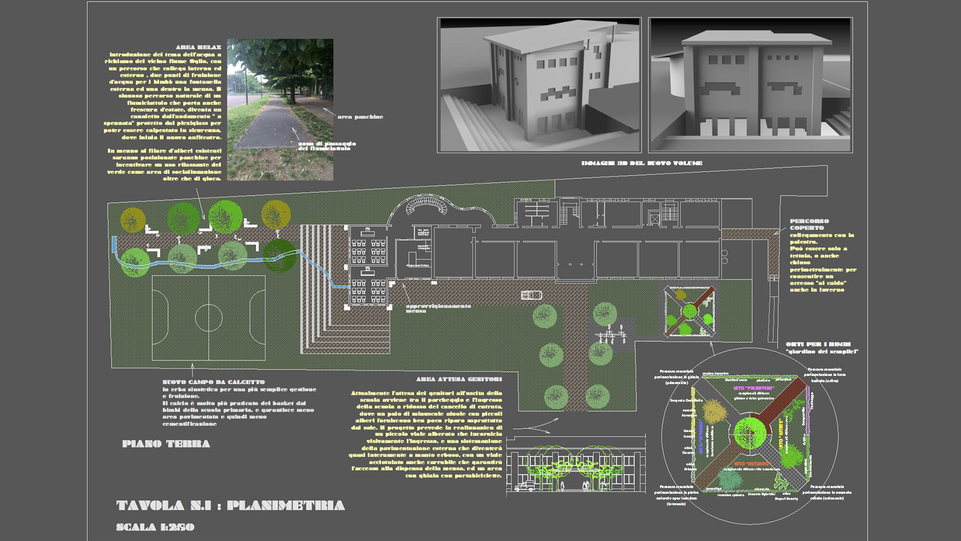 Project For The Expansion Of A School Gloria Fanti Architetto